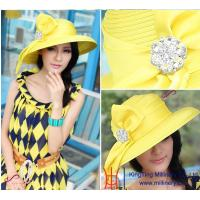 Buy cheap 2015 Spring New Wholesale Women Church Hats/ Party hats from wholesalers