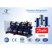 Buy cheap Meat Store Scroll Type Parallel Compressor 15 - 90 Hp Danfoss Hermetic from wholesalers