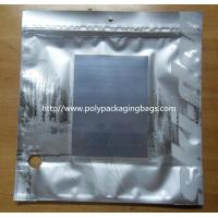 Buy cheap Metalized Silver Ziplock Foil Bag Pouches from wholesalers