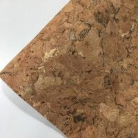 Buy cheap Flocked Feature Cork Leather Fabric Geometry Synthetic Various Backing Fabric from wholesalers