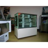 Buy cheap Asia Hot Sale Luxury White Square Cake Display Freezer 1.8 meter Two Layers from wholesalers