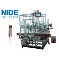 Buy cheap Double Flyer Rotor Windier Armature Coil Winding Machine For Hook Type Commutator from wholesalers