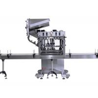 Buy cheap Stainless Steel Bottle Cap Sealing Machine / Automatic Tin Capping Machine from wholesalers