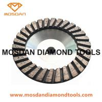 Buy cheap 5'' Turbo Aluminum Diamond Cup Wheel with M14 Thread from wholesalers