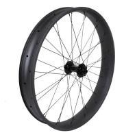 Buy cheap 26er Full Carbon Wide Bicycle Wheels Clincher 90mm Aero Beach UD / 3K Weave from wholesalers