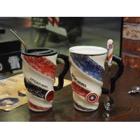 Buy cheap Spider Man Colorful Personalised Coffee Cups / Printing Custom Coffee Mugs from wholesalers
