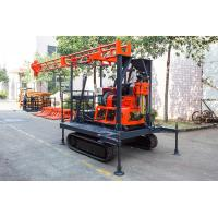 Buy cheap Light Portable Core Drill Rig Crawler-Mounted Engineering Drilling Machine from wholesalers