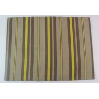 Buy cheap 100% Cotton Printed Stripe 250gsm Canvas Dining Table Mats for Home from wholesalers