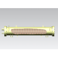 Buy cheap Marine SS304 Shell 4000KW Water Cooled Condenser from wholesalers