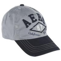 Buy cheap 100% Cotton Customized Grey Mens Baseball Cap , Flat Embroidery 6-Panel 58cm Sports Hats from wholesalers