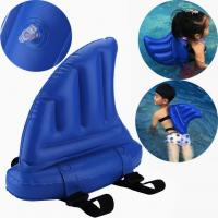 Buy cheap Thick Vinyl Shark Fin Inflatable Kids Toys / Swim Ring Float from wholesalers
