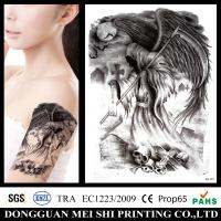 Buy cheap Large Gold Foil Temporary Arm Tattoo Stickers Water Transfer Paper Waterproof from wholesalers