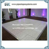 Buy cheap white and black LED star dance floor wedding decoration for sale from wholesalers