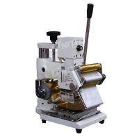 Buy cheap Adjustable Manual Roller Hot Stamping Machine 400mm Thickness from wholesalers