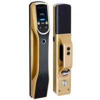 Buy cheap LCD Screen Biometric Recognition Products Face Recognition Door Lock IR Sensor product