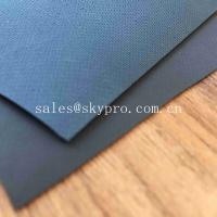 Buy cheap 0.9mm Colored Glossy Rubberized Cloth Thick Neoprene Fabric , Airprene Fabric For Industry Boat product