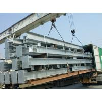 Buy cheap Hot Dip Galvanized Process Workshop Steel Structure For Office from wholesalers