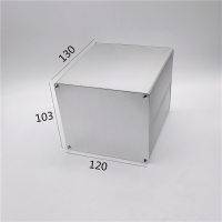 Buy cheap 120*103*130mm  Squre Aluminum Electrical Enclosures For Project from wholesalers