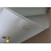 Buy cheap 3732 0.4mm Satin Glass Fibre Cloth / Fire Resistant Fiberglass Fabric from wholesalers