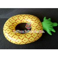 Buy cheap Colorful Pineapple Inflatable Pool Floats Comfortable Swimming Ring from wholesalers