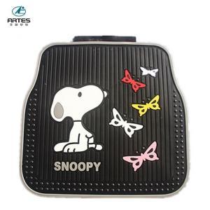 Buy cheap Eco - Friendly Universal Car Mat Cartoon Logo Design Snoopy Car Mats product
