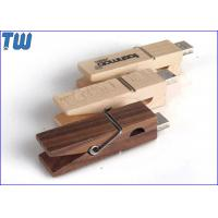 Buy cheap Clothes Wooden Clip 1GB USB Disk Stick Biggest Storage Drive Device from wholesalers