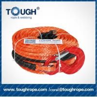 Buy cheap TOUGH ROPE Dyneema 12v synthetic small hand winch cable SUV all-terrain vehicle rope from wholesalers