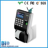 Buy cheap Fingerprint Time Clock with Built-in Printer Bio-P10 from wholesalers