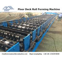Buy cheap 1200 Feeding Roof Panel Roll Forming Machine Gear Box Transmission product