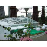 Buy cheap 500 People transparent Luxury Wedding Tent With Decoration For Outdoor Activities from wholesalers