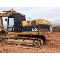 Buy cheap secondhand caterpillar 320c/320d/320e/320b original condition excavator with chain from wholesalers