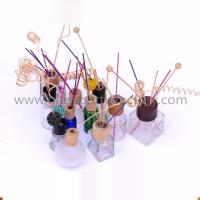 Buy cheap Clear Glass Reed Diffuser Bottles With Stoppers or Cork from wholesalers