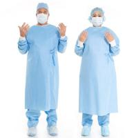 Buy cheap Medical Disposable Surgical Gown Cosy And Sweat Absorbing For Hospital / Lab from wholesalers