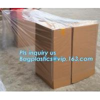 Buy cheap Heavy Duty Extra Big Jumbo Clear Poly Bags For Pallet Covers, Plastic Material and PE Plastic Type reusable pallet cover from wholesalers