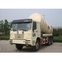 Buy cheap 16CBM Collecting Sewage Sludge Vacuum Pump Septic Tank Cleaning Truck LHD 6X4 from wholesalers