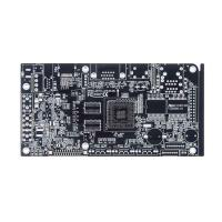 Buy cheap Lead-Free HASL Double-Sided PCB Circuit Board with Black Soldermask from wholesalers