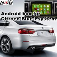 Buy cheap Android 5.1 Car Navigation Box & Video Interface For 2016 Citroen C6 With Youtube Waze Rear View Etc from Wholesalers