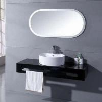Buy cheap Vanity Cabinet, Made of 18mm Thick MDF, PU High Gloss, Single Ceramic Bowl from wholesalers