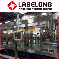 Buy cheap 15000BPH Juice Bottling Machine For Orange Fresh Fruit Juice PLC Control from wholesalers