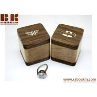 Buy cheap PAIR Engagement ring box Batman Superman Wonder woman Wedding ring box Wood ring box Gifts Jewelry box from wholesalers
