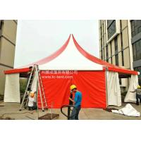 Buy cheap Circus Romantic Aluminium Alloy Octagonal Red PVC Cloth Tents For Parties With PVC Walls from wholesalers