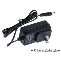 Buy cheap Wall Mount Power Adapter Single Output US EU UK Plug AC DC Adaptor 12v 0.8a 800ma from wholesalers