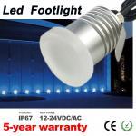 Buy cheap Mini Led Moonlight Footlights Dimmable IP67 12V 24V Wall Floor Deck Corner Light Recessed Spotlight for garden landsc from wholesalers