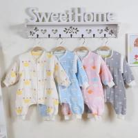 Buy cheap Lightweight Quilt Cotton Baby Clothes Super Soft Muslin Cotton Baby Sleeping Suit from wholesalers