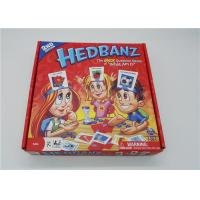 Buy cheap HedBanz Popular Family Card Games , Funny Card Games For Large Groups from wholesalers