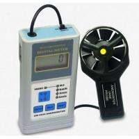Buy cheap AM-4836 Air Velocity And Air Temperature Measurement LCD Display Digital Anemometer With Data Hold Function from wholesalers