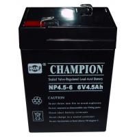 Buy cheap Champion 6V4.5AH AGM battery 6V UPS battery Lead Acid battery from wholesalers