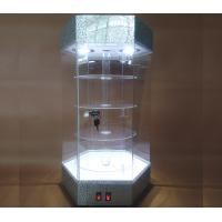 Buy cheap Fashionable Jewelry Display Equipment Jewelry Display Tower With Spotlight Light from wholesalers