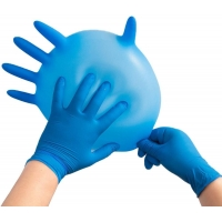 Buy cheap high quality FDA CE Disposable Nitrile Examination Gloves no powder 9 inch 12inch hands protection AQL1.5 AQL4.0 from wholesalers