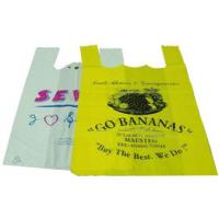 Buy cheap Colorful Biodegradable Plastic Shopping Bags With Handles PE / PO Material from wholesalers